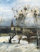 Картины Саврасов Алексей