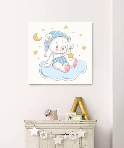 Мишка со звёздочками