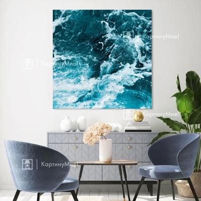 Картина интерьерная Морская бездна