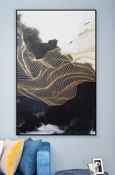 """Картина """"Воздушные линии"""""""