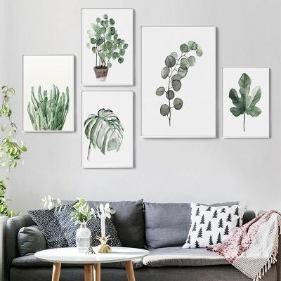 """Набор постеров в спальню """"Растения"""""""