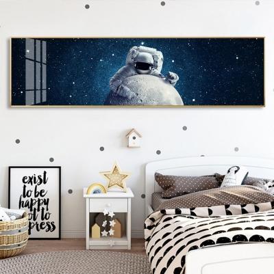 """Картина над кроватью в детскую """"Космонавт"""""""