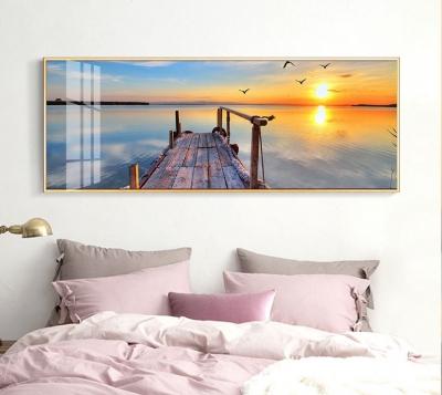 "Картина на панорамная ""Выход к морю"""