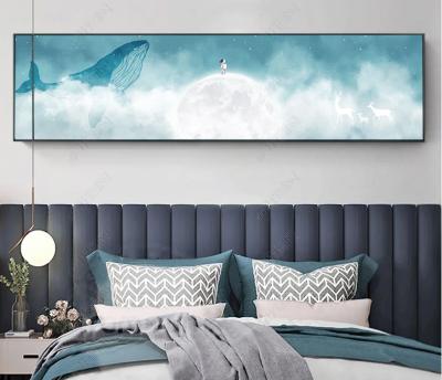 """Картина над кроватью в детскую """"Легкая луна"""""""