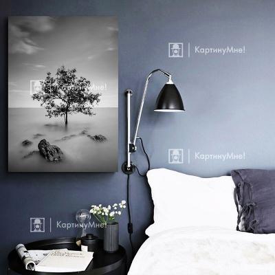 """Картина постер """"Одинокое дерево"""""""