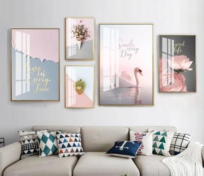 """Комплект постеров """"Розовый сет"""""""