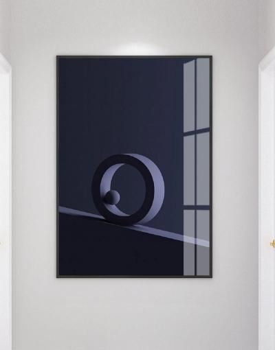 Темно-синий объем