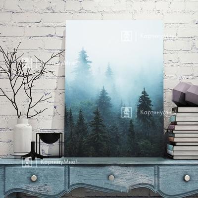 """Современная картина для интерьера """"Таинственный лес"""""""