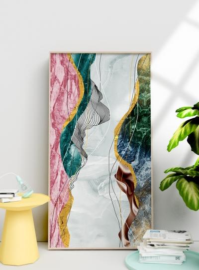 Картина абстрактная