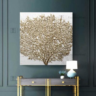 Картина интерьерная золотое дерево
