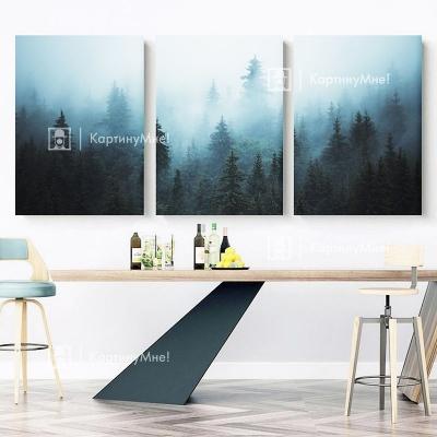 "Картина на стену в зал ""Дремучий лес"""