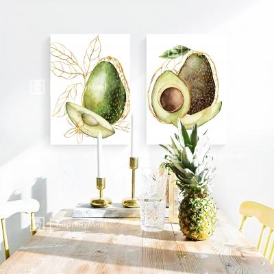 """Картина интерьерная на кухню """"Авокадо"""""""