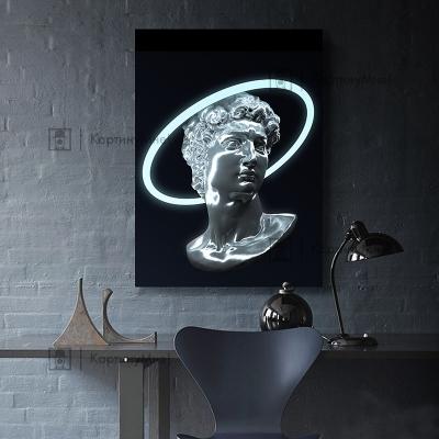 """Картина постер """"Неоновый ренессанс"""""""