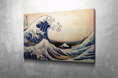 Большая волна в Канагаве - Кацусика Хокусай