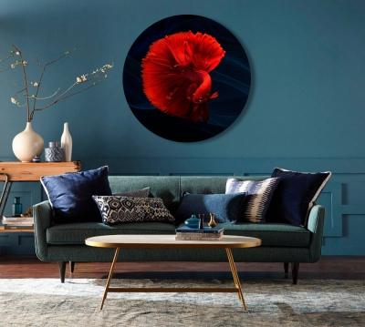 Картина на холсте Красная рыбка