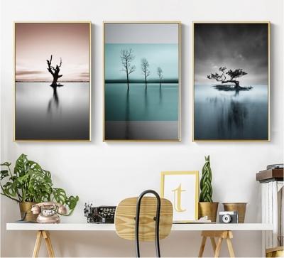 """Картина из трех частей """"Таинство природы"""""""