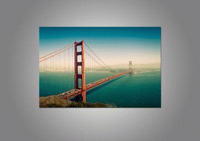 Golden Gate закат-2