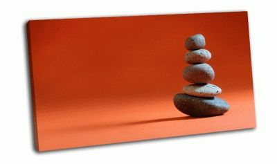 Картина 5 камней сложенные в дзен-ворс