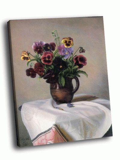 Картина а. шилов - анютины глазки 1982
