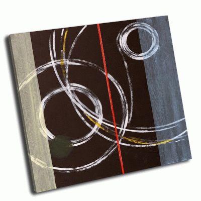 Картина абстрактная живопись клайв