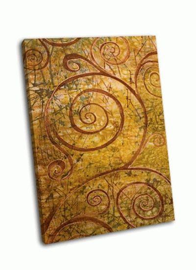Картина абстрактные спирали