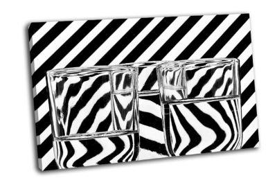 Картина абстрактные стаканы