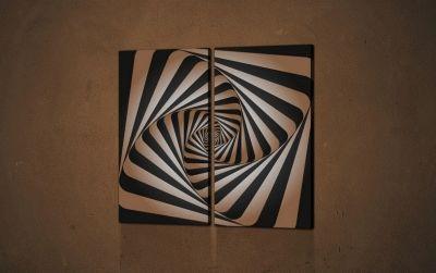Картина абстрактный фон. вектор.