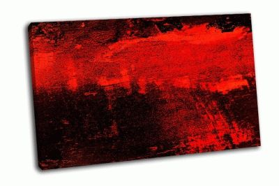 Картина абстрактный красно-черный фон