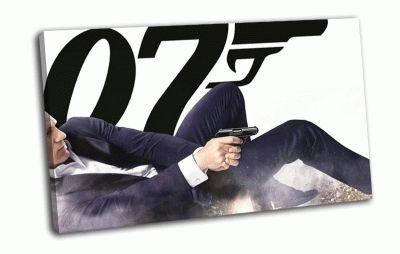 Картина агент 007