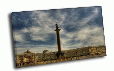 Картина александровская колонна