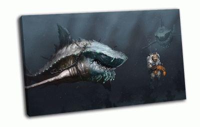 Картина арт-акула