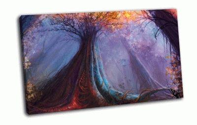 Картина арт-лес