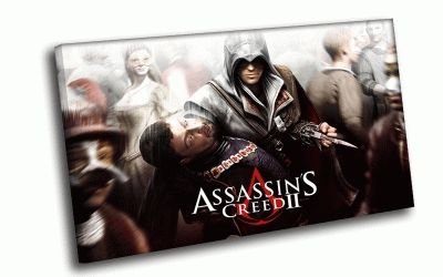 Картина assassin's creed ii в толпе