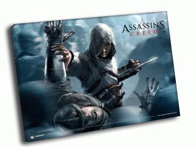 Картина assassin's creed в толпе