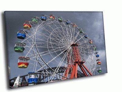 Картина аттракцион колесо
