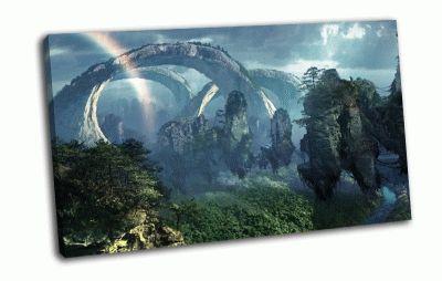 Картина аватар, планета пандора