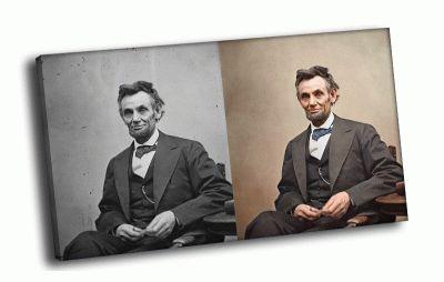 Картина авраам линкольн