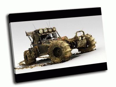 Картина багги в грязи