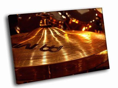 Картина барабанные тарелки