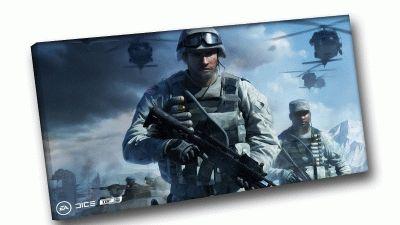 Картина battlefield 3 солдат