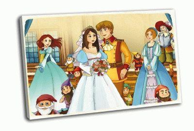 Картина белоснежка и принц