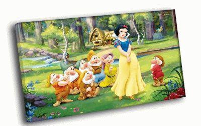 Картина белоснежка и семь гномов