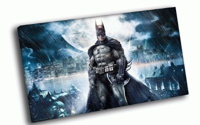 Картина бэтмен на страже города