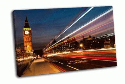 Картина биг-бен в лондоне