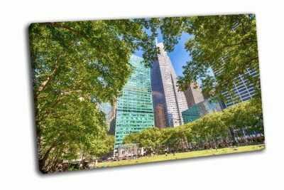 Картина брайант парк-сад
