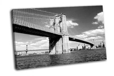 Картина бруклинский мост в нью-йорке