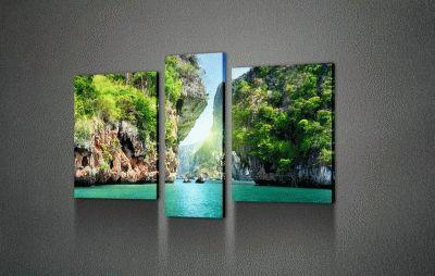 Картина бухта халонг, вьетнам