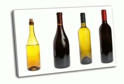 Картина бутылки вина