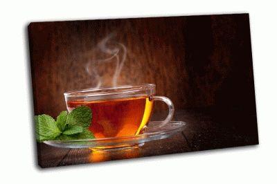 Картина чашка горячего чая