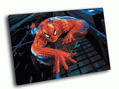 Картина человек паук